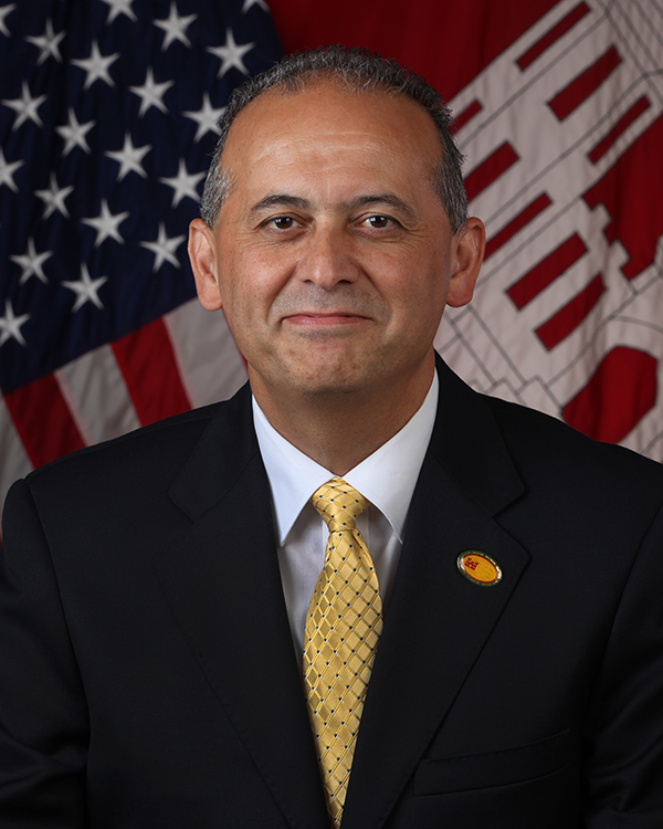 official photograph of Joseph Forcina, Chief, Hurricane Sandy Coastal Management Division